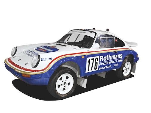 PORSCHE 911 CARRERA 4X4 TYPE 953 (1983)Bilen som vandt Paris-Dakar Rally