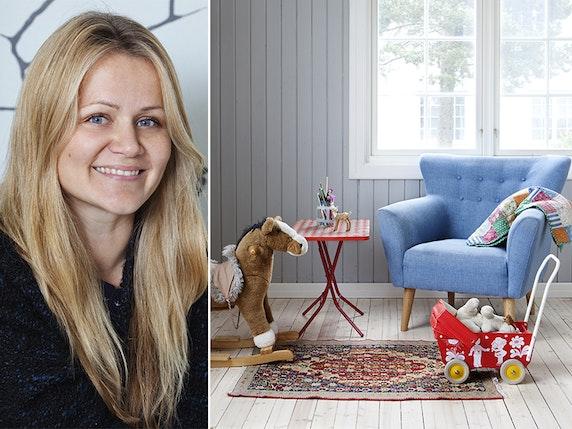 Fargeglad og skandinavisk på Ekeberg