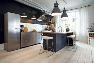 Detaljerige køkkener