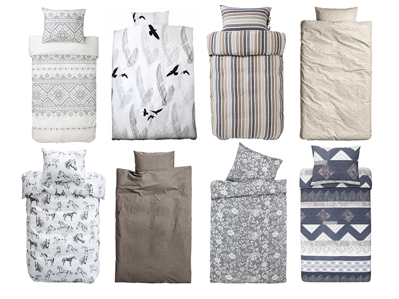 <p>Sov godt i lekkert sengetøy</p>
