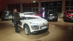 Citroën C4 Cactus er Årets Bil i Danmark 2015