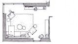 Hvordan undgår vi, at stuens møbler kommer i skammekrogen?
