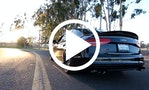 Audi S4 med vild titanium-udstødning