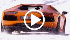 Kør Lamborghini i alperne