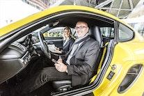Ankom, lej og kør i en ny Porsche