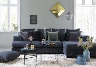 Få ny stil i stuen: grøn glamour