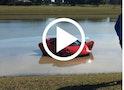 Plask! Se Lamborghini køre i sø