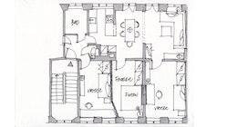 Hvordan ændrer vi rummene i en 150-år gammel lejlighed?