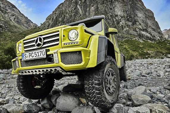 Mercedes G 500 4x4²