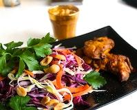 Lowcarb chicken satay