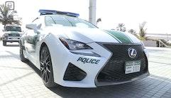 Politiet i Dubai får en Lexus RC F