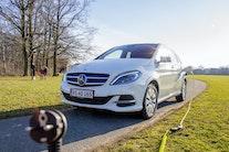 Eldrevet Mercedes B-klasse slår ingen gnister