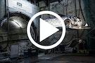 Range Rover Evoque Convertible kører under London