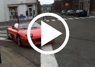 Sådan skal du ikke køre en Ferrari 348