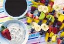 Cashewcreme og raw chokolade til dine frugtspyd