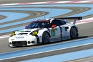Michael tilfreds med sin Le Mans-Porsche