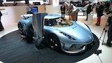 Superbilerne stråler i Genève