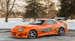 Sælges: Paul Walkers Supra fra The Fast & The Furious