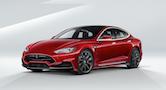 Tesla S med vredt facelift