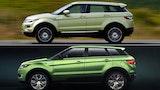 Land Rover giver op overfor kinesisk kopi