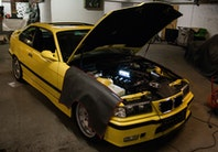 Vi laver lynservice på BMW M3