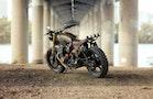 En ægte zombie-motorcykel