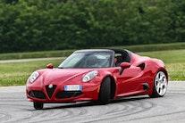Alfa Romeo 4C Spider er klar - og med dansk pris