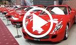 Se Strøjer Samlingens flotte Ferrarier