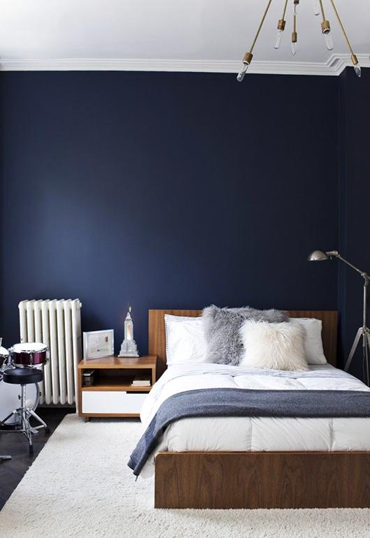 Navy And Grey Bedroom > PierPointSprings.com