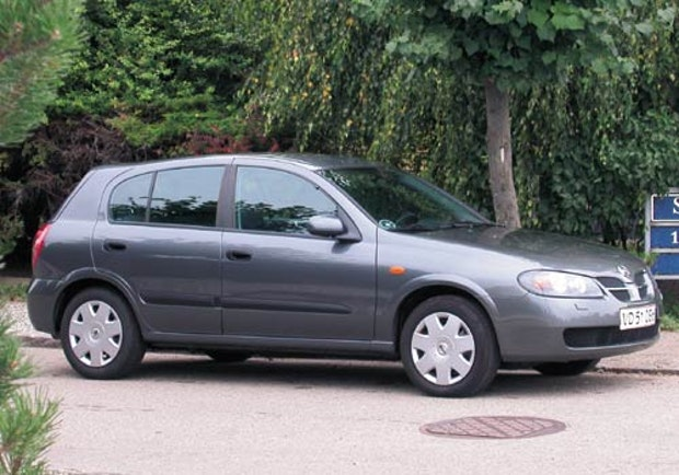 Biltest af Nissan Almera 1,5 dCi Visia
