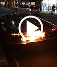Din Lamborghini Aventador brænder!