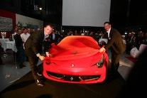 Ferrari skinnede over Allerød