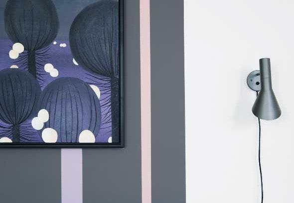 <p>Hjemmets dekorative væg</p>