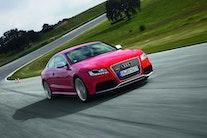 Første test: Audi RS5 med 8.500 o/min