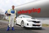 Subaru hurtigst på Nürburgring