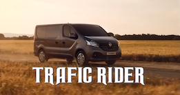 Renault Trafic - nu som Knight Rider!