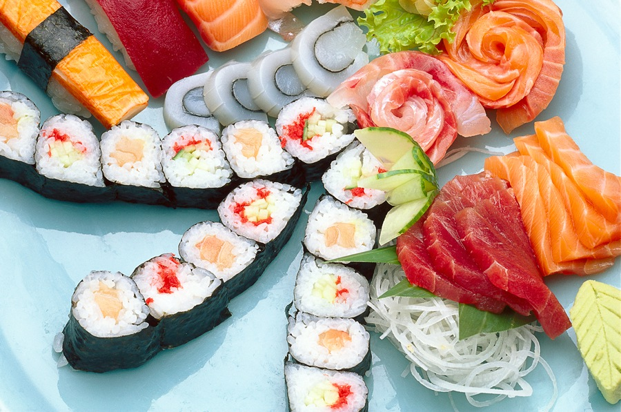 <p></p><p><strong>Sushi</strong></p>