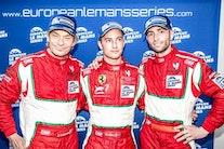 Johnny vandt i Ferrari