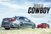 Test: Corvette banker BMW M4 i Bil Magasinet!