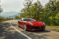 Fuldstændig fantastisk Ferrari på forsiden