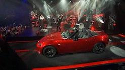Mazda MX-5 til fest med Duran Duran