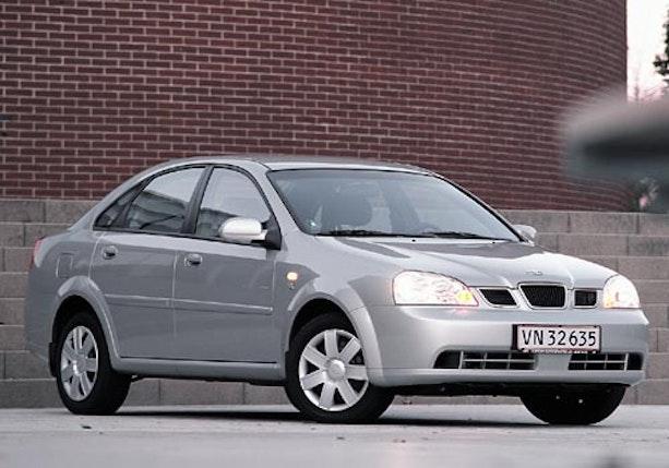 Biltest af Daewoo Nubira 1,6 SX