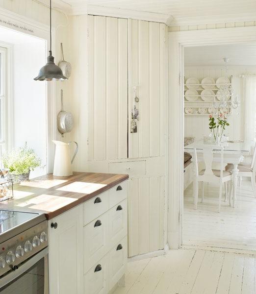 Cottage Kitchen Permit Utah: Kristine Har Norges Vakreste Hjem