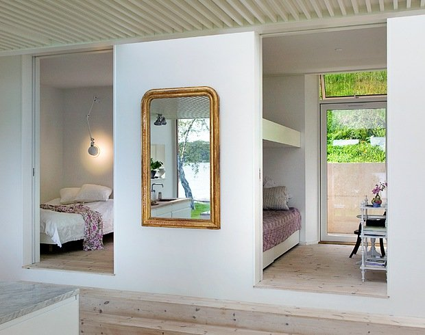 Moderne hytte med smarte l?sninger Bo-bedre.no