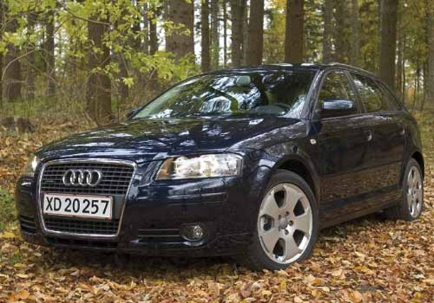 Biltest af Audi A3 Sportback 2,0T Quattro
