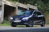 Nissan Pulsar satser på bagsædet