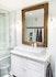Rustikk stil på badet