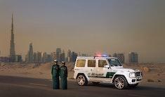 Brabus leverer politibil til Dubai