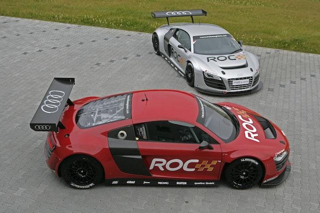 Audi R8 LMS i Race of Champions-trim