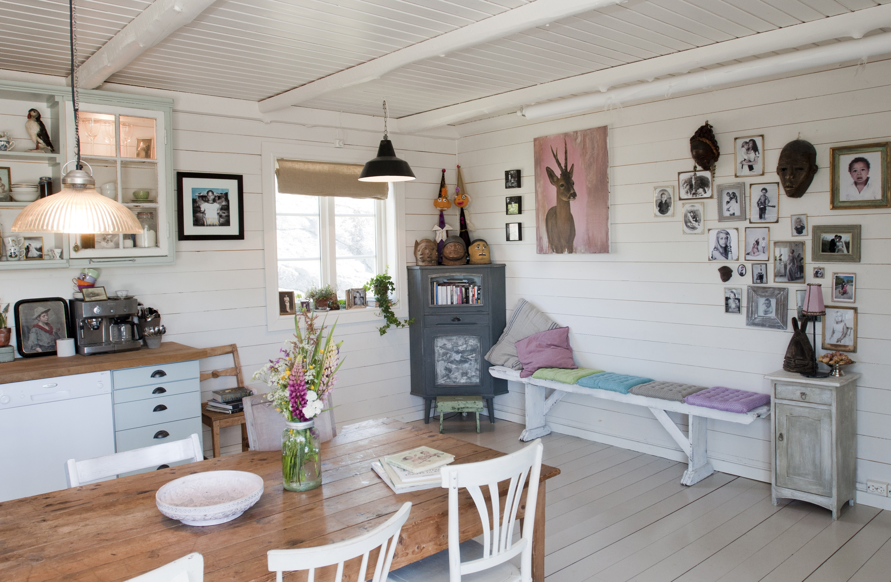 Bes k monas eventyrhus i larvik for Casa shabby chic moderna